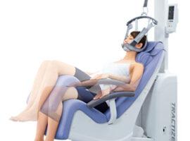 新しい頚椎牽引治療装置